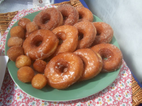 Grandmother Nickel's Donuts (image by Peter Engler)