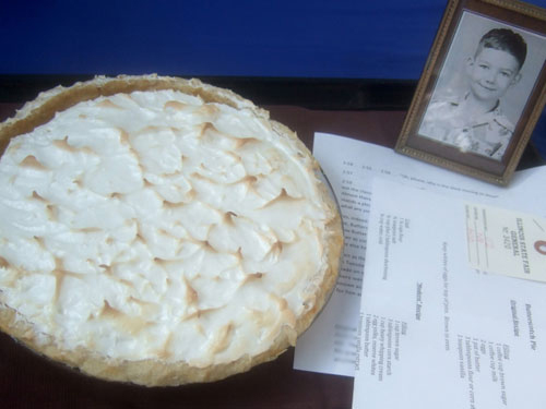 Butterscotch Pie (image by Peter Engler)