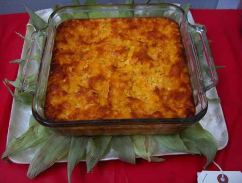 Aunt Lynd's Infamous Corn Pudding
