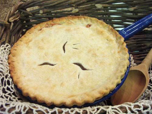 Gooseberry Raisin Pie