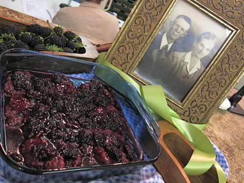 Mockingbird Hill Farm's Brown Sugar Blackberry Dumplings