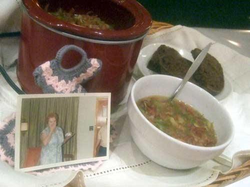 German Pork & Green Bean Stew