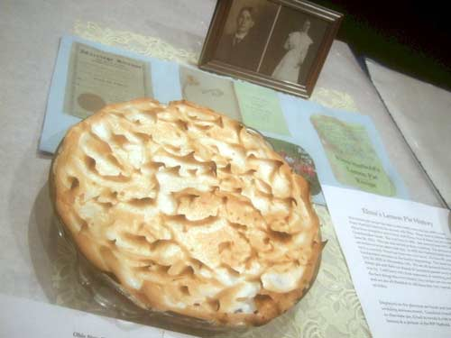 Amy Kent's Lemon Pie