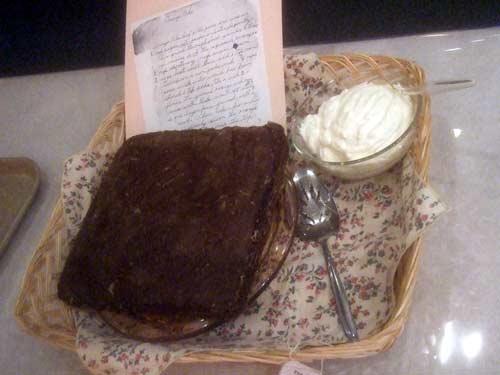 Granny's Orange Cake