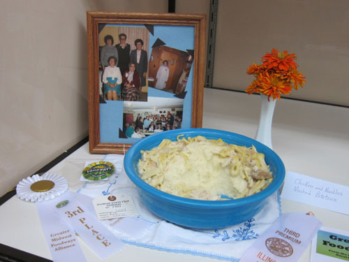 Third Prize: Rouch Family Chicken and Noodles