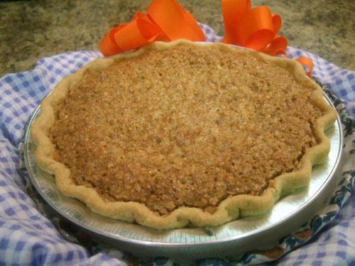 Black Walnut Pie