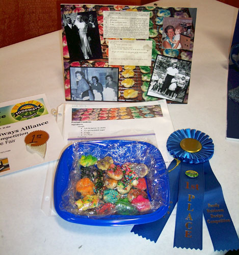 First Prize - Pretzel Cookies