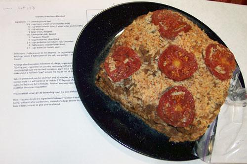 Heirloom Meatloaf