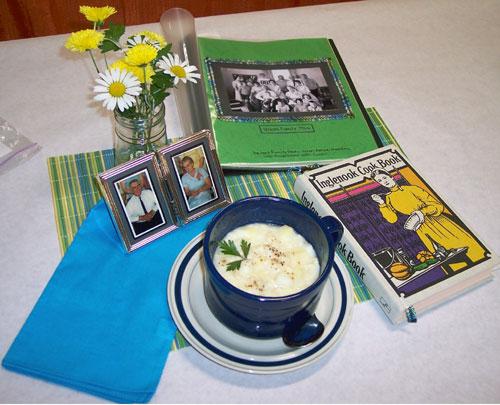 Potato Rivel Soup