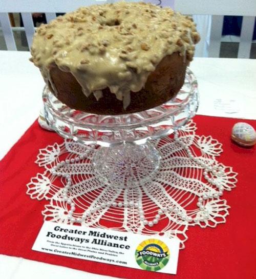Great Aunt Sarah's Pound Cake
