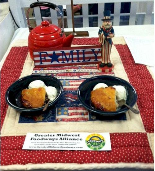 Third Prize: Lemon Blackberry Cake