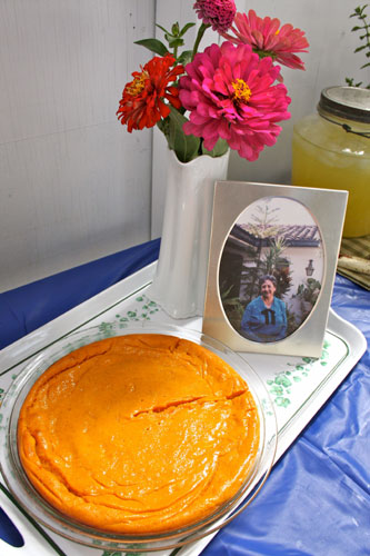 Carrot Souffle  (image by Victoria More)