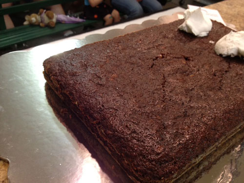 Black Cake (image by Jolene Ketzenberger)