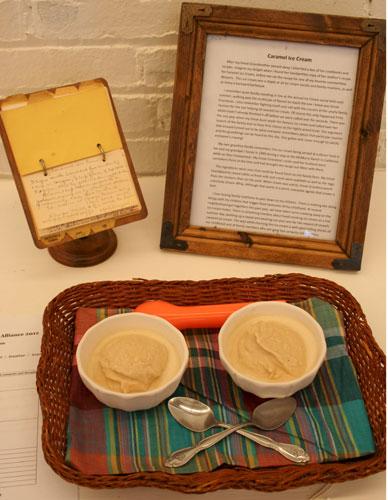 Caramel Ice Cream Image by Karen Keb Will
