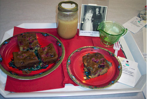 Cranberry Pudding Image Wanda Bain