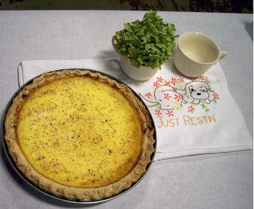 Custard Pie Image Wanda Bain