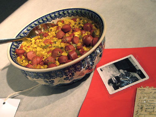 Second prize Corn and Frank Creole (image by Catherine Lambrecht)