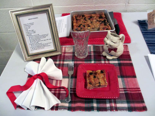 Bread pudding - image by Catherine Lambrecht