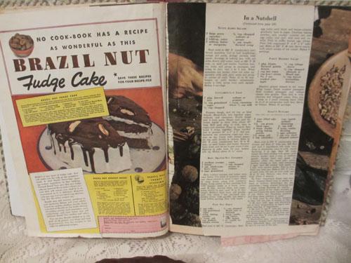 Brazil Nut Fudge Cake (image by Catherine Lambrecht)