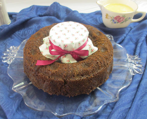 Cranberry Pudding - Catherine Lambrecht