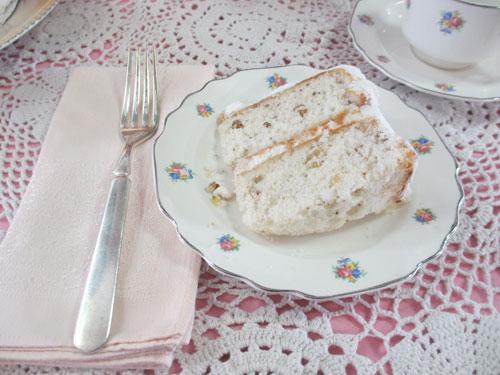 White Nut Cake - Catherine Lambrecht