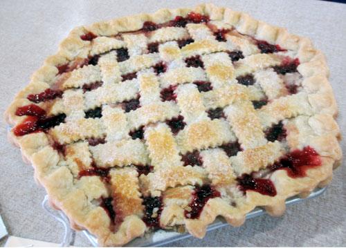 cherry pie hexagon pie plate iowa state fair greater midwest foodways alliance