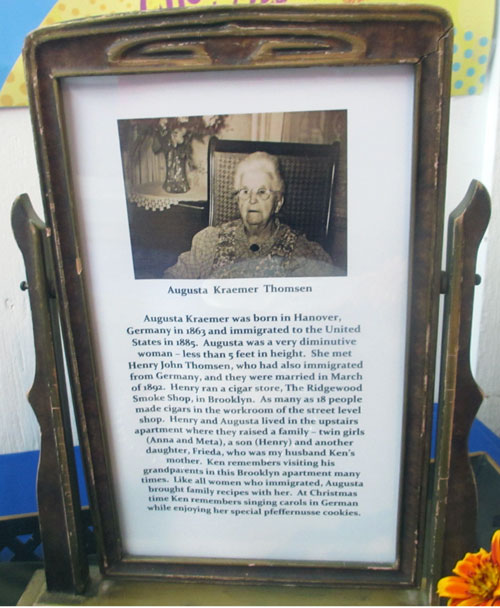 pfeffernusse cookies framed history illinois state fair greater midwest foodways alliance