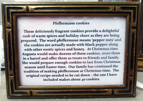 pfeffernusse cookies illinois state fair greater midwest foodways alliance