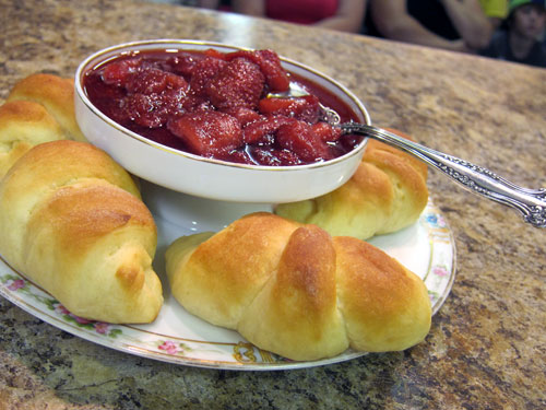 grandma yeast rolls strawberry freezer jam indiana state fair greater midwest foodways alliance