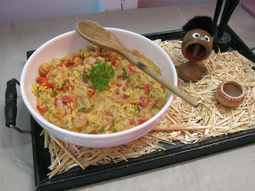 Peixe a Lumbo African Shrimp Rice Stew Amy Wertheim Atlanta Illinois Peter Engler