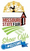 Missouri State Fair logo 2015 show offs welcome