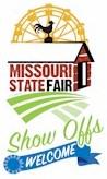 Missouri State Fair logo 2015 show offs welcome