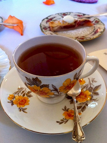 Louisa Chu Tea by Gerri Greater Midwest Foodways Alliance Apple Rhubarb Pie Cream