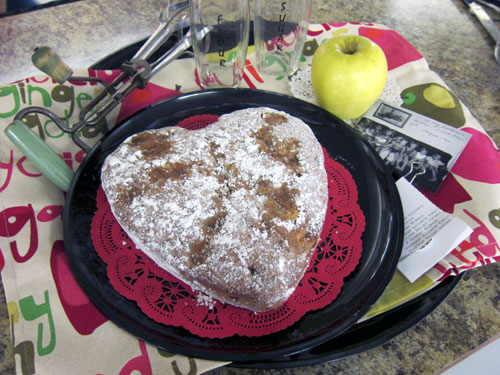 Indiana State Fair Heirloom Recipe Contest 2016 apple cake