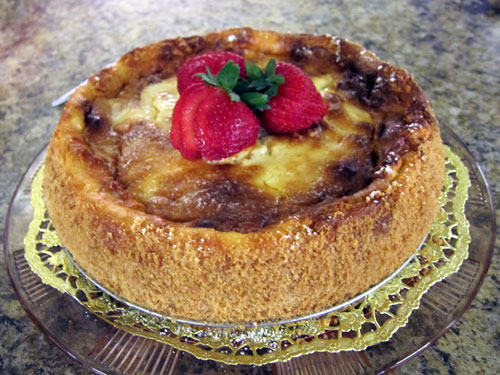 Indiana State Fair Heirloom Recipe Contest 2016 Cheese cake