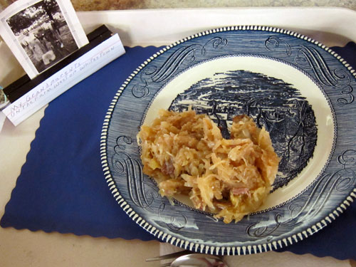 Indiana State Fair Heirloom Recipe Contest 2016 Pork Sauerkraut